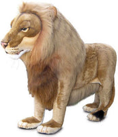 Hansa 4731 Lion Male Ride-On Plush Stuffed Animal