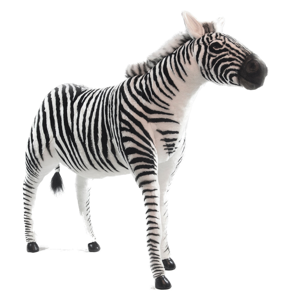 Hansa 6568 Zebra Adult Ride-On Plush Stuffed Animal