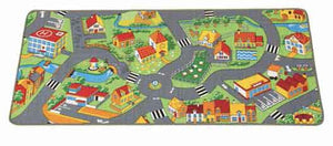 "Learning Carpets Happy Little Town Rug 36"" x 79"" - LC315"
