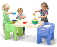 Simplay3 In & Out Activity Table