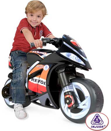 Injusa Battery-Powered Repsol Wind Motorcycle 6v Inj-6461