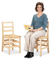 Jonti-Craft 5918JC2 KYDZ Ladderback Chairs 18