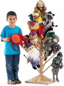 Jonti-Craft 0488JC 33-Post Puppet Tree Puppet Stand