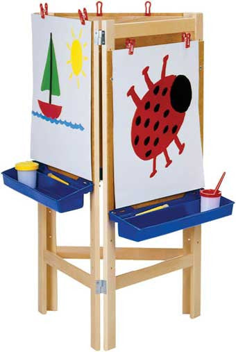 Jonti-Craft 0653JC 3-Way Adjustable Easel