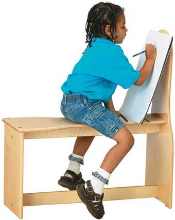 Jonti-Craft 0300JC Art Horse Easel
