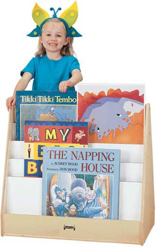 Jonti-Craft 3502JC Big Book Pick-A-Book Stand - 1 Sided - The Creativity Institute