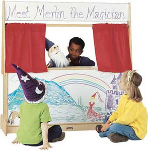 Jonti-Craft 7200JC Imagination Station with Write-n-Wipe Marker Board