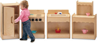 Jonti-Craft 2075JC Toddler Contempo Kitchen 4-Appliance Set