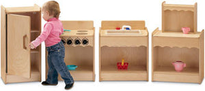 Jonti-Craft 2075JC Toddler Contempo Kitchen 4-Appliance Set - The Creativity Institute