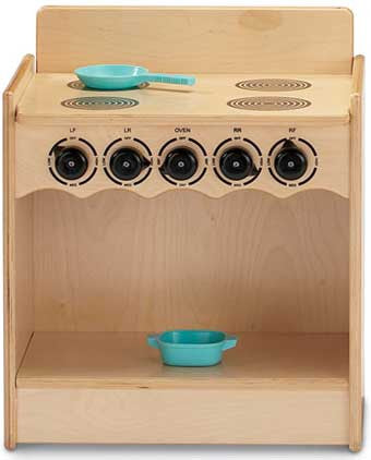 Jonti-Craft 2079JC Toddler Contempo Kitchen Stove