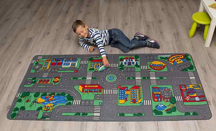 Learning Carpets City Play Carpet LC104