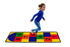 "Learning Carpets Hopscotch Rug LC121  - 26"" x 79"""