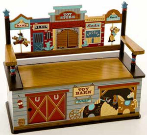 Levels of Discovery Wild West Bench with Seat LOD72001