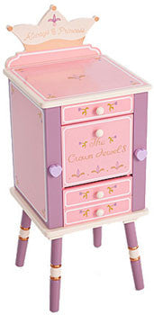 Levels of Discovery Princess Jewelry Cabinet LOD20043