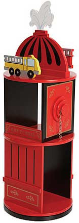 Levels of Discovery LOD20037 Firefighter Revolving Bookcase