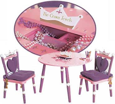 Levels of Discovery Princess Table and 2 Chair Set LOD20008  sc 1 st  The Creativity Institute & Levels of Discovery Princess Table and 2 Chair Set LOD20008   The ...