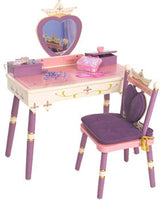 Levels of Discovery Princess Vanity & Chair Set LOD20021