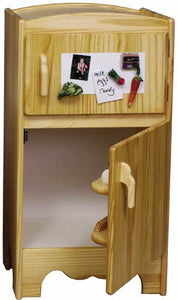Little Colorado Wooden Kids Refrigerator - Unfinished - 94U