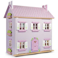 Le Toy Van Lavender House Dollhouse - H108