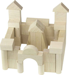 Maple Landmark Junior Builder Wooden Block Set - 41 Piece