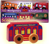 Maple Landmark Service Scoot Set II Wooden Toys - 71075