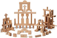 Maple Landmark My Best Blocks Master Builder Wooden Block Set