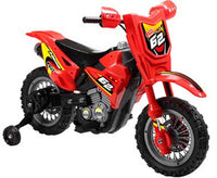 Mini Motos 6v Dirt Bike Red MM-3999B_Red
