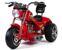 Mini Motos Red Hawk Motorcycle 12v Red Battery-Powered Ride-On