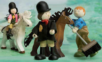 Le Toy Van Budkins 5-Piece Equestrian Gift Set with Horses