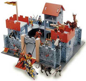 Le Toy Van Camelot Castle Wooden Activity Set - TV236