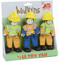 Le Toy Van Budkins Construction Workmen Gift Set - BK903
