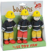 Le Toy Van Budkins Firefighters Gift Set - BK902