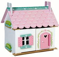 Le Toy Van H111 Lily's Cottage Dollhouse with Furniture