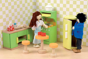Le Toy Van ME052 Sugar Plum Kitchen Dollhouse Furniture