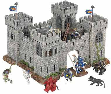 Papo 33102 Mini Fortress Castle