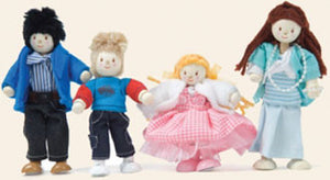 Le Toy Van P053 My Family Poseable Dolls