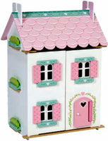 Le Toy Van H126 Sweetheart Cottage Furnished Dollhouse