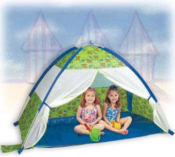 Pacific Play Tents 19001 Under-the-Sea Beach Cabana