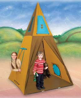 Pacific Play Tents Giant Teepee (Tee Pee) Play Tent - 30610