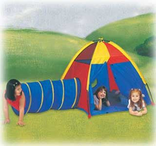 "Pacific Play Tents ""Hide Me"" PlayTent and Tunnel Combo"