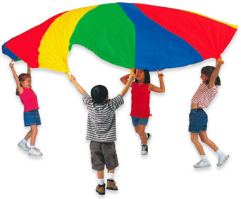 Pacific Play Tents 20' Parachute with Carry Bag