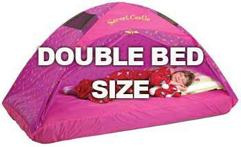 Pacific Play Tents Princess Secret Castle Double Bed Tent - Full Size