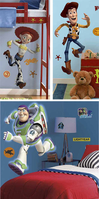 RoomMates Toy Story 3 Woody, Jessie and Buzz Giant Wall Decals