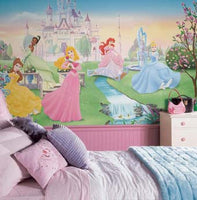 RoomMates Disney Dancing Princess XL Wall Mural 6' x 10.5' - JL1228M