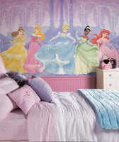 RoomMates Disney Perfect Princess XL Wall Mural 6' x 10.5' - JL1226M