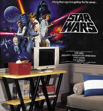 RoomMates Star Wars XL Wall Mural 6' x 10.5' - JL1217M