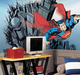 RoomMates Superman XL Wall Mural 6' x 10.5' - JL1064M