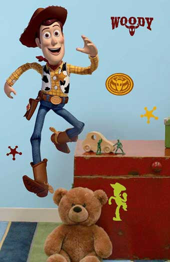 RoomMates Toy Story 3 Woody Giant Wall Decal - RMK1430GM
