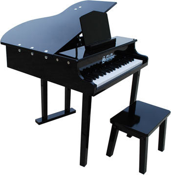 Schoenhut 379B 37-Key Concert Grand Toy Piano Includes Bench - Black