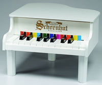 Schoenhut 189W 18-Key Mini Grand Toy Piano - White